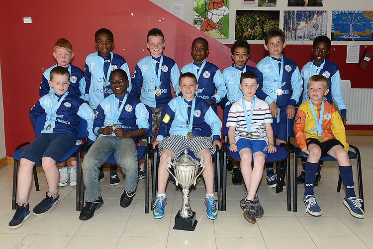 Moneymore U-10 League division 1 winners. Photo:Colin Bell/pressphotos.ie