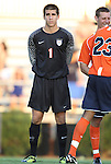 09 September 2011: Virginia's Matt Miscione. The University of Virginia Cavaliers defeated the Duke University Blue Devils 1-0 at Koskinen Stadium in Durham, North Carolina in an NCAA Division I Men's Soccer game.