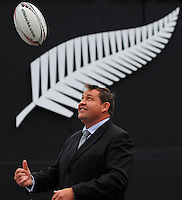 111216 Steve Hansen - New All Blacks Coach