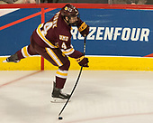 Neal Pionk (UMD - 4) - The University of Denver Pioneers defeated the University of Minnesota Duluth Bulldogs 3-2 to win the national championship on Saturday, April 8, 2017, at the United Center in Chicago, Illinois.