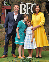 Ruby Barnhill ( 2nd fr left ) &amp; her family at the &quot;The BFG&quot; UK film premiere, Odeon Leicester Square cinema, Leicester Square, London, England, UK, on Sunday 17 July 2016.<br /> CAP/CAN<br /> &copy;CAN/Capital Pictures /MediaPunch ***NORTH AND SOUTH AMERICAS ONLY***