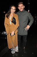 Laura Wright and Harry Rowland at the LFW s/s 2018 Vin + Omi catwalk show &amp; afterparty, Andaz Liverpool Street Hotel, Liverpool Street, London, England, UK, on Monday 11 September 2017.<br /> CAP/CAN<br /> &copy;CAN/Capital Pictures