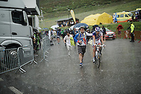 Thibaut Pinot (FRA/FDJ) after the finish line<br /> <br /> finish of stage 9 in Andorra Arcalis (coming from Velha Val d'Aran/ESP, 184km)<br /> 103rd Tour de France 2016