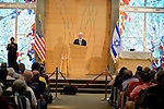 PEMBROKE PINES, FL - OCTORBER 23: Former U.S. President Bill Clinton attends Century Pines Jewish Center on Sunday October 23, 2016 in Pembroke Pines, Florida. ( Photo by Johnny Louis / jlnphotography.com )