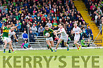 Barry John Keane Kerry bursts away from David Mulgrew Tyrone during their National League clash in Fitzgerald Stadium on Sunday