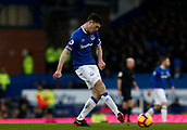 2nd February 2019, Goodison Park, Liverpool, England; EPL Premier League Football, Everton versus Wolverhampton Wanderers; Michael Keane of Everton
