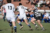 89th Quadrangular Rugby Tournament - Chirist's College v Wanganui Collegiate at Wellington College, Wellington, New Zealand on Wednesday 1 July 2015.<br /> Photo by Masanori Udagawa. <br /> www.photowellington.photoshelter.com.