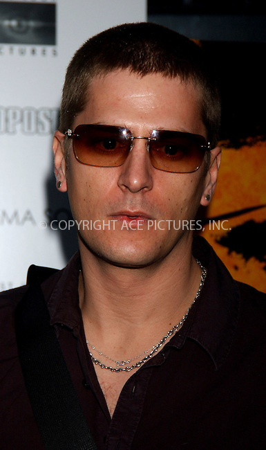 WWW.ACEPIXS.COM . . . . . ....NEW YORK, APRIL 27, 2006....Rob Thomas at the NY Premiere of First Look Pictures 'The Proposition'.....Please byline: KRISTIN CALLAHAN - ACEPIXS.COM.. . . . . . ..Ace Pictures, Inc:  ..(212) 243-8787 or (646) 679 0430..e-mail: picturedesk@acepixs.com..web: http://www.acepixs.com