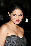 """HOLLYWOOD, CA. - December 03: Actress Melonie Diaz arrives at the Los Angeles premiere of """"Nothing Like The Holidays"""" at Grauman's Chinese Theater on December 3, 2008 in Hollywood, California."""