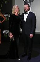 29 November 2018 - Las Vegas, NV - Martin Truex, Sherry Pollex. 2018 Monster Energy NASCAR Awards Red Carpet at Wynn Las Vegas.     <br /> CAP/ADM/MJT<br /> &copy; MJT/ADM/Capital Pictures
