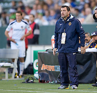 Boca Juniors Head Coach Roberto Pompei. The LA Galaxy defeated Boca Juniors 1-0 at Home Depot Center stadium in Carson, California on Sunday May 23, 2010.  .