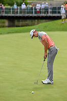 Joaquin Niemann (CHL) barely misses his putt on 17 during Rd4 of the 2019 BMW Championship, Medinah Golf Club, Chicago, Illinois, USA. 8/18/2019.<br /> Picture Ken Murray / Golffile.ie<br /> <br /> All photo usage must carry mandatory copyright credit (© Golffile | Ken Murray)