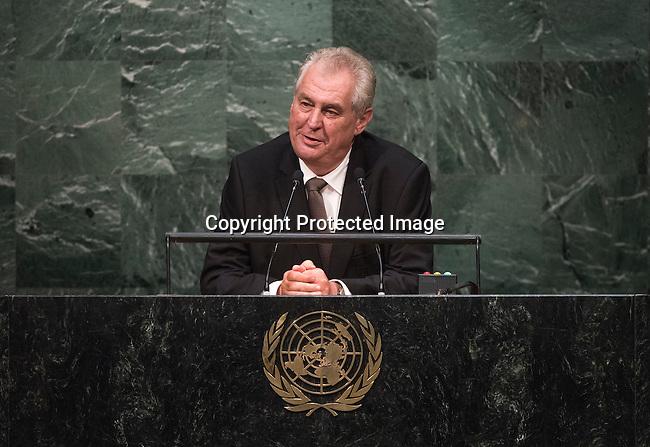 Address by His Excellency Miloš Zeman, President of the Czech Republic