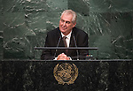 Address by His Excellency Miloš Zeman, President of the Czech Republic