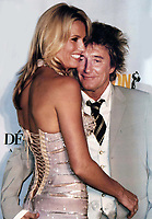 Penny Lancaster Rod Stewart Undated<br /> Photo By John Barrett/PHOTOlink
