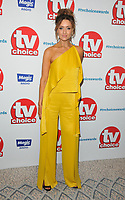 Catherine Tyldesley at the TV Choice Awards 2018, The Dorchester Hotel, Park Lane, London, England, UK, on Monday 10 September 2018.<br /> CAP/CAN<br /> &copy;CAN/Capital Pictures