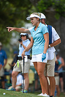 Lexi Thompson (USA) looks over her putt from just off the green on 4 during round 4 of the 2019 US Women's Open, Charleston Country Club, Charleston, South Carolina,  USA. 6/2/2019.<br /> Picture: Golffile | Ken Murray<br /> <br /> All photo usage must carry mandatory copyright credit (© Golffile | Ken Murray)