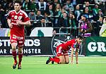 Stockholm 2014-04-14 Fotboll Superettan Hammarby IF - Degerfors IF :  <br /> Degerfors Ferhad Ayaz ser deppig ut<br /> (Foto: Kenta J&ouml;nsson) Nyckelord:  HIF Bajen Degerfors  depp besviken besvikelse sorg ledsen deppig nedst&auml;md uppgiven sad disappointment disappointed dejected