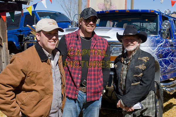 RODNEY CARRINGTON, TOBY KEITH & WILLIE NELSON.in Beer for My Horses .*Filmstill - Editorial Use Only*.CAP/FB.Supplied by Capital Pictures.