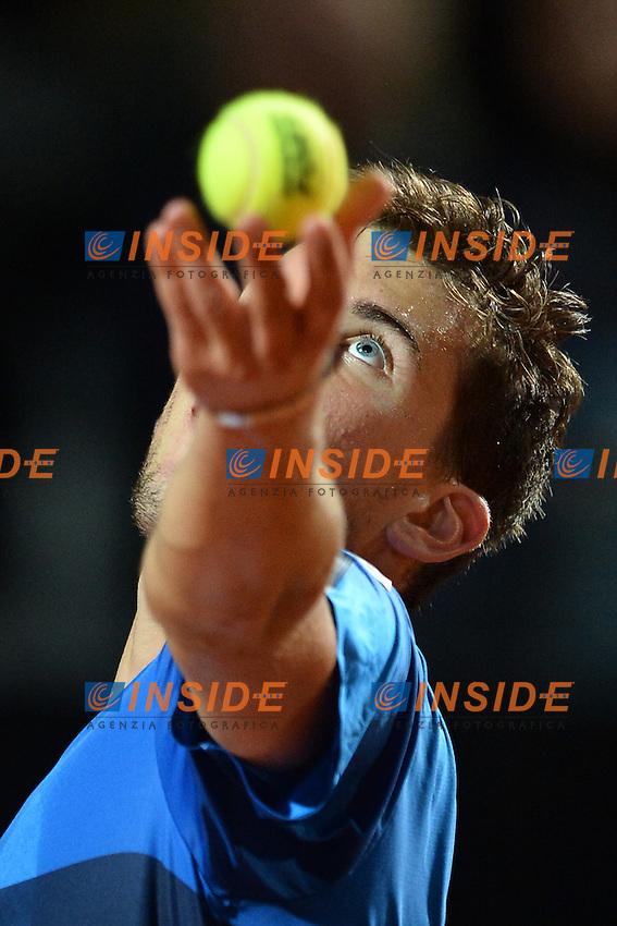 Dominic Thiem (BEL)<br /> Roma 13-05-2016  Foro Italico<br /> Internazionali BNL d'Italia, <br /> Tennis ATP<br /> Foto Antonietta Baldassarre / Insidefoto
