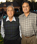 Safdar Chaudhry and Dr. M. Najam at the Second Annual True Blue Gala sponsored by the Houston Police Foundation at the home of Paige and Tilman Fertitta Saturday Oct. 17,2009. (Dave Rossman/For the Chronicle)