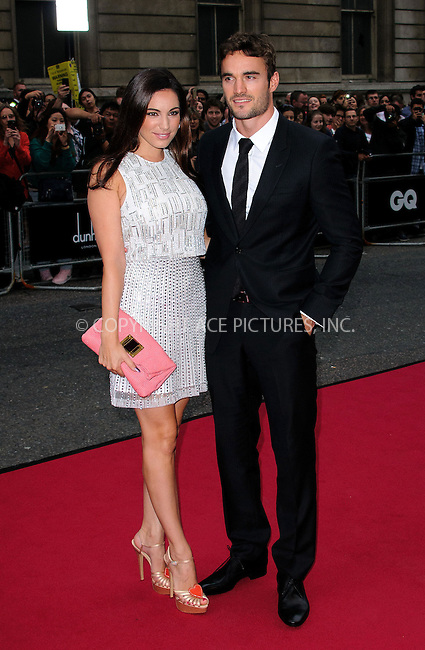 WWW.ACEPIXS.COM....US SALES ONLY....September 4, 2012, London, England.....Kelly Brook and Thom Evans arriving at the GQ Men of the Year Awards at the Royal Opera House on September 4, 2012 in London.......By Line: Famous/ACE Pictures....ACE Pictures, Inc..Tel: 646 769 0430..Email: info@acepixs.com