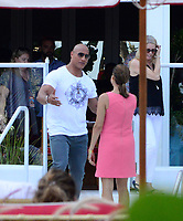 www.acepixs.com<br /> <br /> May 13 2017, Maimi FL<br /> <br /> Actor Dwayne Johnson promotes the new 'Baywatch' movie at a hotel on May 13 2017 in Miami, FL<br /> <br /> By Line: Solar/ACE Pictures<br /> <br /> ACE Pictures Inc<br /> Tel: 6467670430<br /> Email: info@acepixs.com<br /> www.acepixs.com