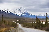 "Mount Dillon along the James Dalton Highway, ""the Haul Road"""