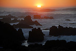 Sunset at Asilomar State Beach