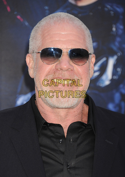 HOLLYWOOD, CA- AUGUST 11: Actor Ron Perlman arrives at the Los Angeles premiere of 'The Expendables 3' at TCL Chinese Theatre on August 11, 2014 in Hollywood, California.<br /> CAP/ROT/TM<br /> &copy;Tony Michaels/Roth Stock/Capital Pictures
