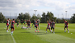 general view of training drill during the Sheffield Utd training session at the Shirecliffe Training Complex , Sheffield. Picture date: September 29th, 2016. Pic Simon Bellis/Sportimage