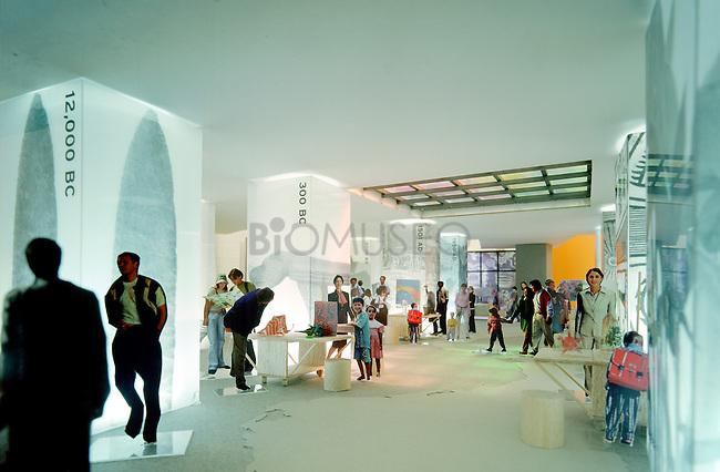 Galerias del Biomuseo, Panamá.