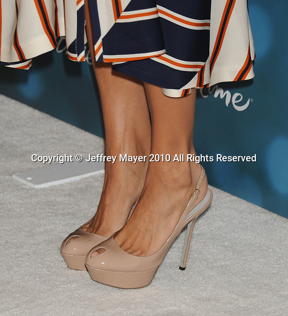 BEVERLY HILLS, CA. - September 30: Eva Mendes arrives at Variety's 2nd Annual Power Of Women Luncheon at The Beverly Hills Hotel on September 30, 2010 in Beverly Hills, California.