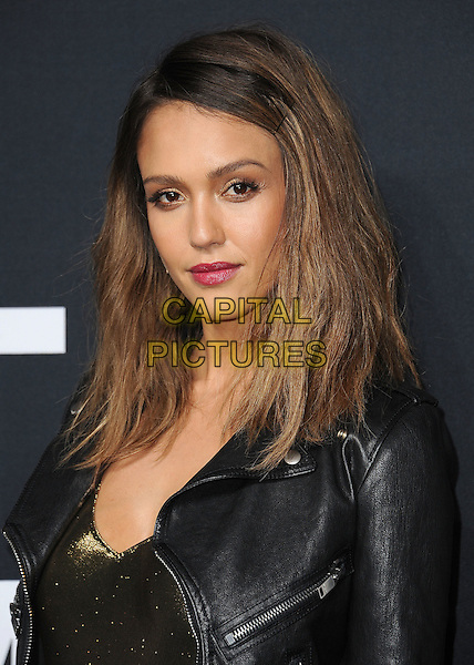 HOLLYWOOD, CA - FEBRUARY 10:  Jessica Alba at Saint Laurent at The Palladium at the Hollywood Palladium on February 10, 2016 in Hollywood, California. <br /> CAP/MPI/PGSK<br /> &copy;PGSK/MPI/Capital Pictures