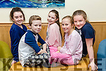 At the St Brendan's Hurling Club Strictly Come Dancing in Ballyroe Heights Hotel on Saturday were Timmy Kerins, Nicole Arefjeva, Ava O'Donald, Zoe O'Brien, Kate Brophy