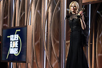 Nicole Kidman accepts the Golden Globe Award for BEST PERFORMANCE BY AN ACTRESS IN A LIMITED SERIES OR A MOTION PICTURE MADE FOR TELEVISION for her role in &quot;Big Little Lies&quot; at the 75th Annual Golden Globe Awards at the Beverly Hilton in Beverly Hills, CA on Sunday, January 7, 2018.<br /> *Editorial Use Only*<br /> CAP/PLF/HFPA<br /> &copy;HFPA/PLF/Capital Pictures