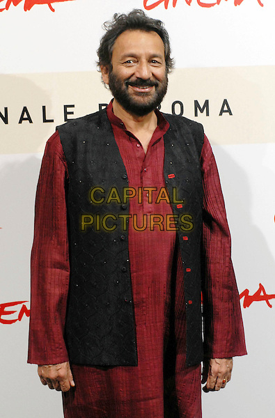 "SHEKHAR KAPUR.Photocall for ""Elizabeth: The Golden Age"" at the 2nd annual Rome Film Festival, Rome, Italy..October 19th, 2007.half 3/4 black jacket top waistcoat beard facial hair.CAP/OME.©Omega/Capital Pictures."