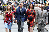 NEW YORK, NY-September 28:  Kathie Lee Giffortd, Matt Lauer,Savannah Guthrie, Al Roker, , at  Today Show Commerical at 30 Rockefeller  Center Plaza in New York. September 28, 2016. Credit:RW/MediaPunch