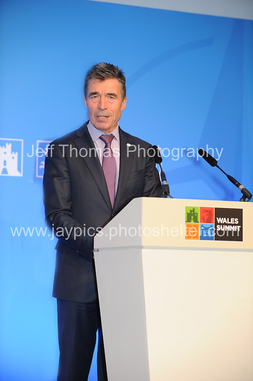Celtic Manor Resort, Newport, South Wales<br /> <br /> Sec. General of Nato Anders Fogh Rasmussen<br /> <br /> Photographer: Jeff Thomas - Jeff Thomas Photography - 07837 386244/07837 216676 - www.jaypics.photoshelter.com - swansea1001@hotmail.co.uk