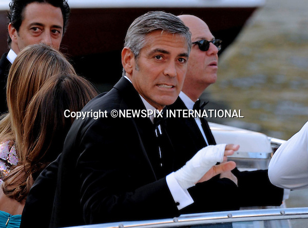 """GEORGE CLOONEY.at the  66th Venice Film Festival , Venice_08/09/2009.Mandatory Credit Photo: ©NEWSPIX INTERNATIONAL..**ALL FEES PAYABLE TO: """"NEWSPIX INTERNATIONAL""""**..IMMEDIATE CONFIRMATION OF USAGE REQUIRED:.Newspix International, 31 Chinnery Hill, Bishop's Stortford, ENGLAND CM23 3PS.Tel:+441279 324672  ; Fax: +441279656877.Mobile:  07775681153.e-mail: info@newspixinternational.co.uk"""