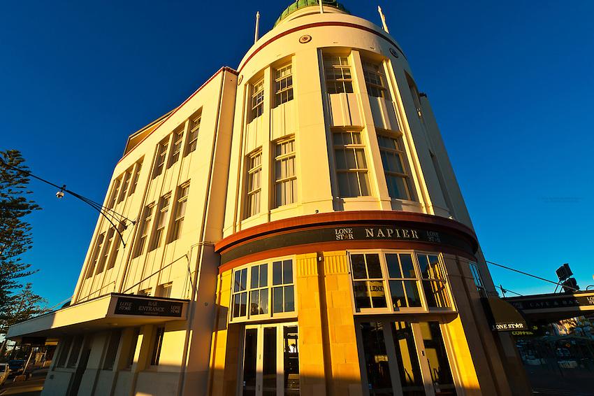 T&G Dome (art deco architecture), Napier, Hawkes Bay, North Island, New Zealand