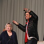 The Young and The Restless actors Daniel Goddard with Joyce Becker on February 16, 2019 for a fan q & a, meet and great with autographs and photo taking hosted by Soap Opera Festival's Joyce Becker at the Hollywood Casino in Columbus, Ohio. (Photos by Sue Coflin/Max Photos)