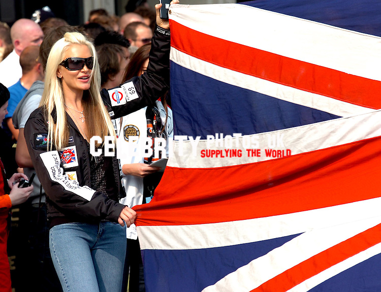 CAPRICE AT THE START OF THE GUMBALL 3000 PHOTOS TONI NEWTON
