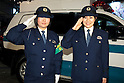 "Police women pose for the cameras during the Niconico Douga fan event at Makuhari Messe International Exhibition Hall on April 25, 2015, Chiba, Japan. The event includes special attractions such as J-pop concerts, Sumo and Pro Wrestling matches, cosplay and manga and various robot performances and is broadcast live on via the video-sharing site. Niconico Douga (in English ""Smiley, Smiley Video"") is one of Japan's biggest video community sites where users can upload, view, share videos and write comments directly in real time, creating a sense of a shared watching. According to the organizers more than 200,000 viewers for two days will see the event by internet. The popular event is held in all 11 halls of the huge Makuhari Messe exhibition center from April 25 to 26. (Photo by Rodrigo Reyes Marin/AFLO)"