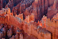 "Bryce Point, Bryce Canyon National Park, Utah.  Colorful limestone rock (often called ""hoodoos"" in the Claron Formation along Utah's Paunsaugunt Plateau."