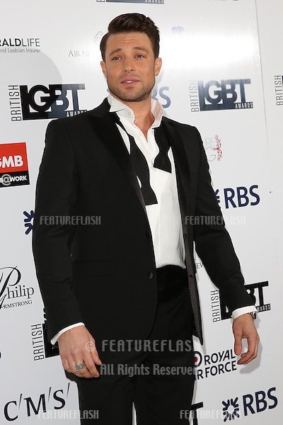 Duncan James at The British LGBT Awards at the Grand Connaught Rooms, London.<br /> May 13, 2016  London, UK<br /> Picture: James Smith / Featureflash