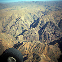 Air view of the Menar e Jam in the Ghor province - Afghanistan. .Next to the Menar e Jam, the former capital of the Ghorides Empire Fîrûzkôh.