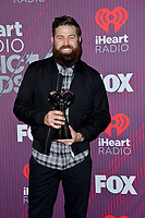 LOS ANGELES, CA. March 14, 2019: Jordan Davis at the 2019 iHeartRadio Music Awards at the Microsoft Theatre.<br /> Picture: Paul Smith/Featureflash