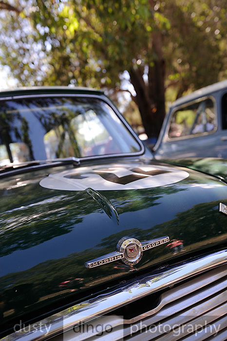 Morris Mini Cooper S 2011 Classic Car Show, Whiteman Park, Perth, Western Australia. March 20, 2011