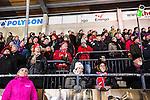 Stockholm 2013-11-26 Bandy Elitserien Hammarby IF - Edsbyns IF :  <br /> Edsbyn supporter fans publik supporters <br /> (Foto: Kenta J&ouml;nsson) Nyckelord:  supporter fans publik supporters